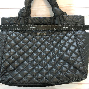 NWOT Large Tote or Carryon Kenneth Cole Black